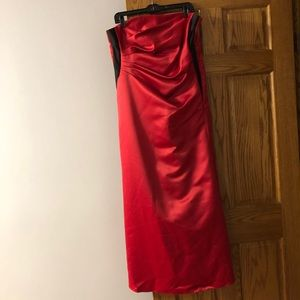 Dresses & Skirts - Sexy Red and Black Prom Dress